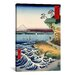 <strong>The Coast at Hota in Awa Province, 1858' by Utagawa Hiroshige Paint...</strong> by iCanvasArt