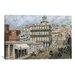 "iCanvasArt ""San Francisco, Knob Hill 1854"" Canvas Wall Art by Stanton Manolakas"