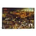 <strong>'The Triumph of Death' by Pieter Bruegel Painting Print on Canvas</strong> by iCanvasArt