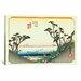 """<strong>""""Shirasuka"""" Canvas Wall Art by Utagawa Hiroshige l</strong> by iCanvasArt"""