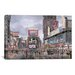 "iCanvasArt ""Times Square: New York"" Canvas Wall Art by Stanton Manolakas"