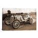 iCanvasArt Photography Vintage Race Car Graphic Art on Canvas