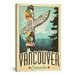 <strong>'Vancouver, Canada' by Anderson Design Group Vintage Advertisement ...</strong> by iCanvasArt