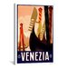 <strong>Venezia Advertising Vintage Poster Canvas Print Wall Art</strong> by iCanvasArt