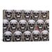 <strong>iCanvasArt</strong> Skulls Galore Canvas Wall Art