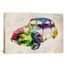 <strong>'VW Beetle (Urban)' by Michael Tompsett Graphic Art on Canvas</strong> by iCanvasArt