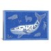 "<strong>""W Whale"" Canvas Wall Art by Willow Bascom</strong> by iCanvasArt"