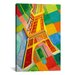 """<strong>""""Tour Eiffel (Tower)"""" Canvas Wall Art by Robert Delaunay</strong> by iCanvasArt"""