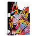 <strong>'Siberian Husky' by Dean Russo Graphic Art on Canvas</strong> by iCanvasArt