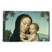 <strong>iCanvasArt</strong> Christian 'Virgin and Child' by Gerard David Painting Print on Canvas