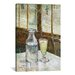<strong>'Still Life with Absinthe' by Vincent Van Gogh Painting Print on Ca...</strong> by iCanvasArt