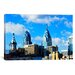 <strong>iCanvasArt</strong> Panoramic Skyscrapers in a City, Liberty Place, Philadelphia, Pennsylvania Photographic Print on Canvas