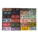 <strong>Photography State License Plates Textual Art on Canvas</strong> by iCanvasArt