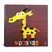 <strong>iCanvasArt</strong> Stretch the Giraffe Canvas Wall Art from Design Turnpike