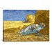 <strong>iCanvasArt</strong> 'The Siesta (After Millet)' by Vincent Van Gogh Painting Print on Canvas