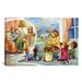 <strong>iCanvasArt</strong> Kids Children Storytime Cartoon Canvas Wall Art