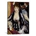 <strong>'The Theatre Box (La Loge)' by Pierre-Auguste Renoir Painting Print...</strong> by iCanvasArt