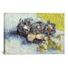 <strong>iCanvasArt</strong> 'Still Life with Red Cabbages and Onions' by Vincent Van Gogh Painting Print on Canvas