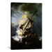 <strong>'The Storm on The Sea of Galilee' by Rembrandt Painting Print on Ca...</strong> by iCanvasArt