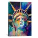 "<strong>iCanvasArt</strong> ""Statue"" Canvas Wall Art by Richard Wallich"
