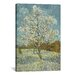 <strong>'The Pink Peach Tree l, 1888' by Vincent Van Gogh Painting Print on...</strong> by iCanvasArt