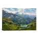 <strong>iCanvasArt</strong> Scenic Swiss Alps Spring Mountain Landscape Photographic Print on Canvas
