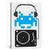 iCanvasArt Space Invaders DJ Hero Graphic Art on Canvas