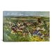 <strong>iCanvasArt</strong> 'View of Auvers' by Paul Cezanne Painting Print on Canvas