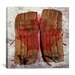 <strong>Canada Vintage Hockey Goalie Pads Graphic Art on Canvas</strong> by iCanvasArt