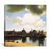 """<strong>""""View of Delft, C.1660-61"""" Canvas Wall Art by Johannes Vermeer</strong> by iCanvasArt"""