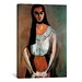 "<strong>""The Italian Woman"" Canvas Wall Art by Henri Matisse</strong> by iCanvasArt"