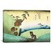 "<strong>iCanvasArt</strong> ""Woodcut"" Canvas Wall Art by Utagawa Hiroshige l"