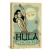 <strong>iCanvasArt</strong> 'The Hulu Hideout' by Anderson Design Group Vintage Advertisement on Canvas