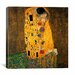 <strong>iCanvasArt</strong> 'The Kiss' by Gustav Klimt Painting Print on Canvas