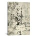 <strong>iCanvasArt</strong> 'The Man Tree' by Hieronymus Bosch Painting Print on Canvas