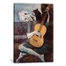 <strong>'The Old Guitarist' by Pablo Picasso Painting Print on Canvas</strong> by iCanvasArt