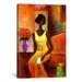 "<strong>iCanvasArt</strong> ""The Letter"" Canvas Wall Art by Keith Mallett"
