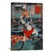 <strong>'Urawa Station' by Kuniyoshi Painting Print on Canvas</strong> by iCanvasArt