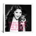 <strong>iCanvasArt</strong> Selena Gomez Quote Canvas Wall Art