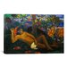 iCanvasArt 'The King's Wife' by Paul Gauguin Painting Print on Canvas