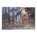 "iCanvasArt ""Woods Near Oele, 1908"" Canvas Wall Art by Piet Mondrian"