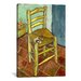 <strong>'Vincent's Chair with His Pipe' by Vincent Van Gogh Painting Print ...</strong> by iCanvasArt