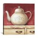 "<strong>iCanvasArt</strong> ""The Paris Tea Pot"" Canvas Wall Art by Lisa Audit"