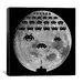 <strong>Space Invaders - Moon Battle Canvas Wall Art</strong> by iCanvasArt
