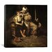 <strong>'The Runaway (Runaway Boy and Clown)' by Norman Rockwell Painting P...</strong> by iCanvasArt
