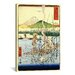 "<strong>iCanvasArt</strong> ""The Sagami River"" Canvas Wall Art by Utagawa Hiroshige l"