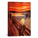 iCanvasArt 'The Scream' by Edvard Munch Painting Print on Canvas