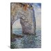 <strong>iCanvasArt</strong> 'The Manneporte Near Etretat 1886' by Claude Monet Painting Print on Canvas