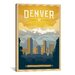 <strong>'The Mile High City - Denver, Colorado' by Anderson Design Group Vi...</strong> by iCanvasArt