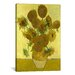<strong>'Sunflowers' by Vincent Van Gogh Painting Print on Canvas</strong> by iCanvasArt